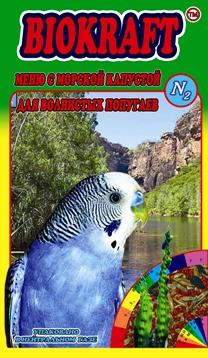 Biokraft меню с морской  капустой для волнистых попугаев - Biokraft menju s morskoj kapustoj dlja volnistyh popugaev.jpg