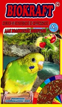 Biokraft меню с овощами и  фруктами для волнистых попугаев - Biokraft menju s ovowami i fruktami dlja volnistyh popugaev.jpg