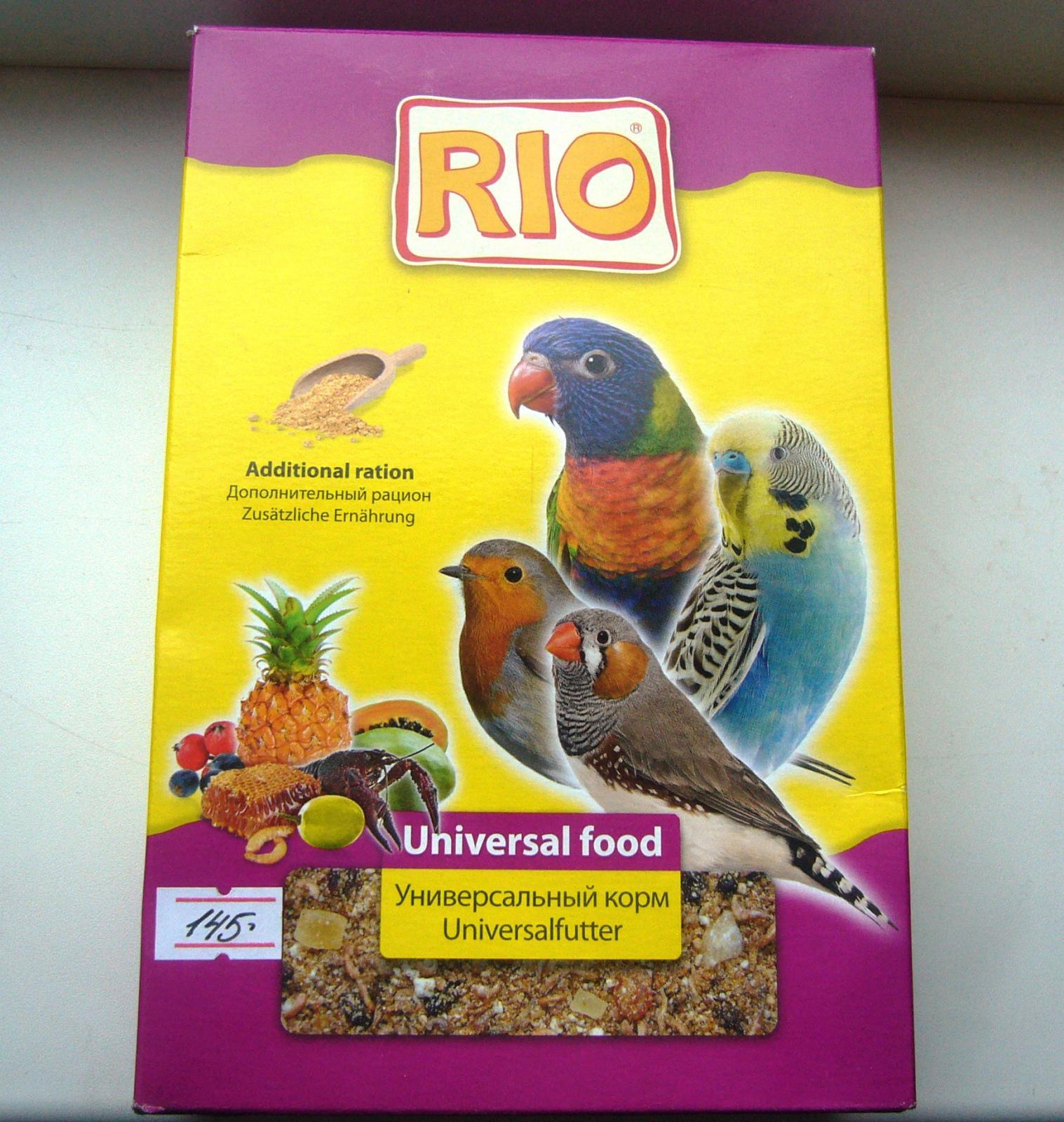 Корм Рио Универсальный корм (Дополнительный рацион) - P1090997.JPG