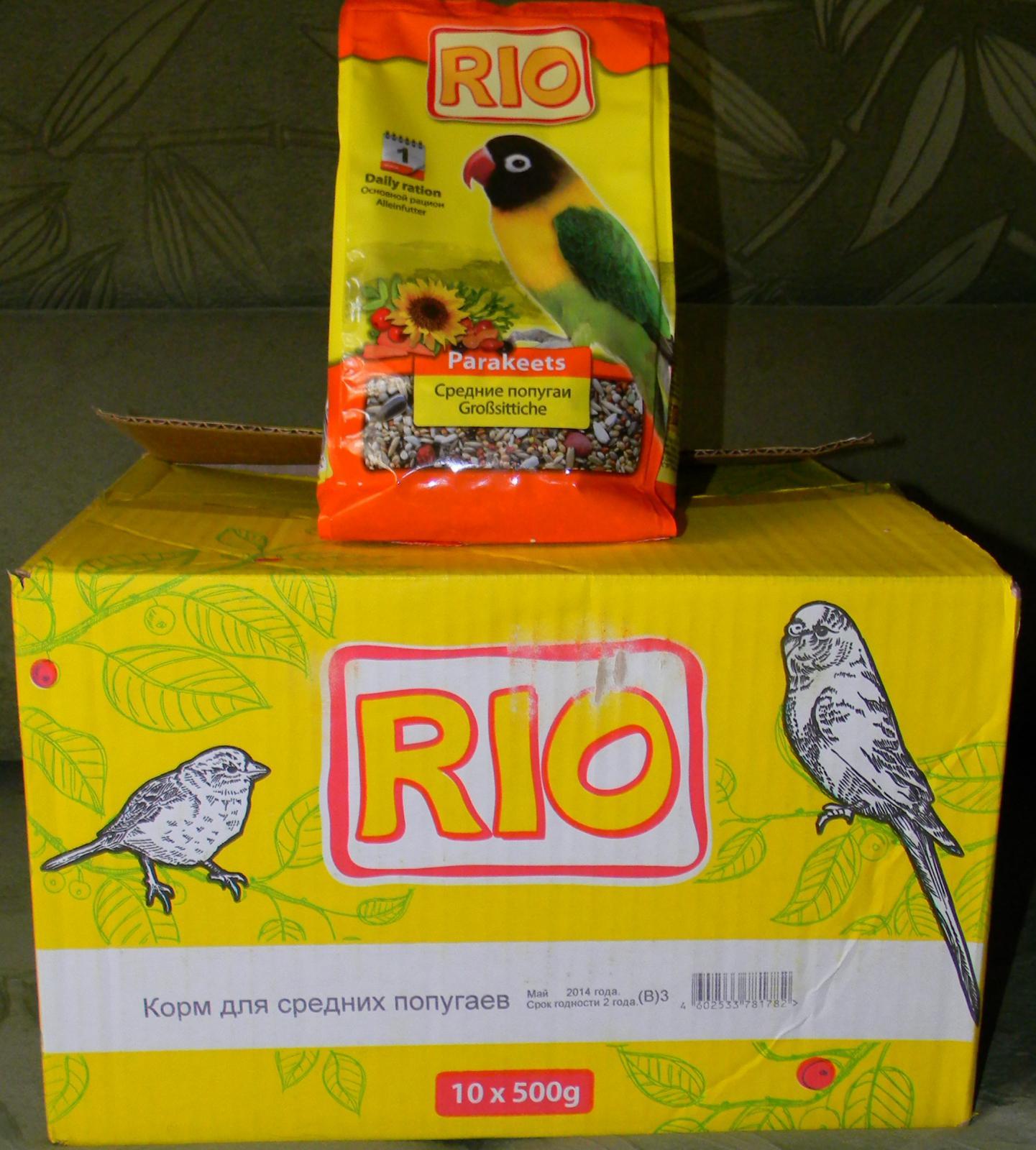 Корм Рио для средних попугаев. - рио для средних.JPG