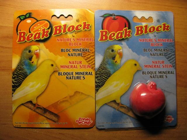 Минеральный камень Beak Block. - Минеральный камень Beak Block.jpg