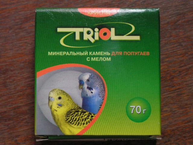 Минеральный камень Триол - Триол зелёная коробка.jpg