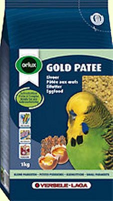 Orlux Gold patee small parakeets  Влажный яичный корм для волнистых попугайчиков. - Яичный корм.jpg