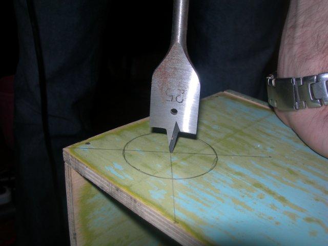 Для отверстия подойдёт сверло на 50мм. - .jpg Для отверстия подойдет перьевое сверло на 50 мм.jpg