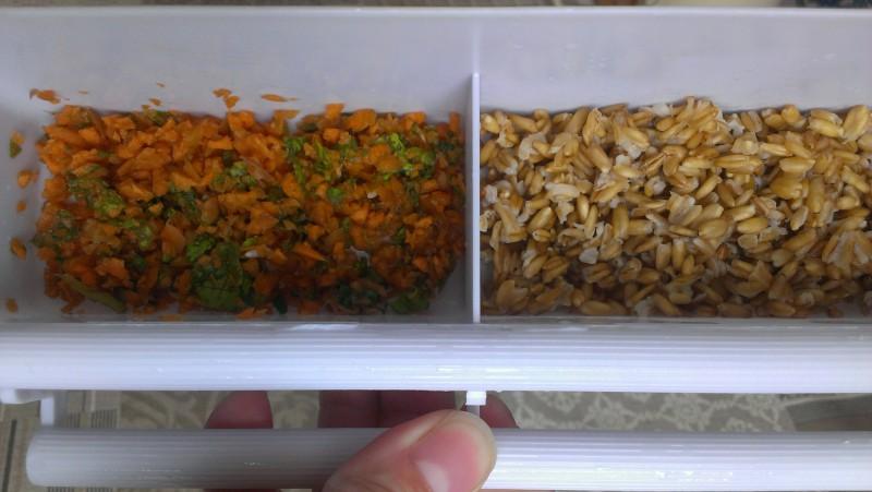 Морковь, лист салата, овес, зерновая смесь рио! - IMAG5177.jpg
