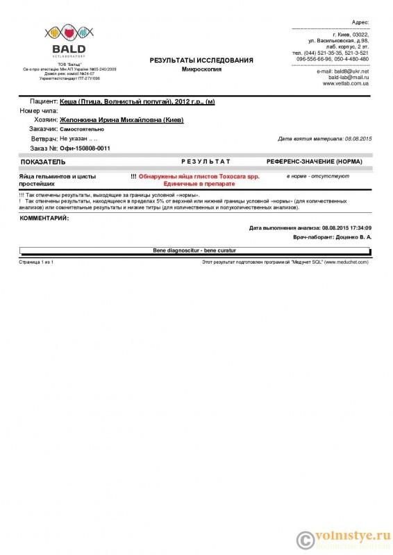 Кокцидии и гельминты у волнистика - Lab result 20150808173714-page-001.jpg